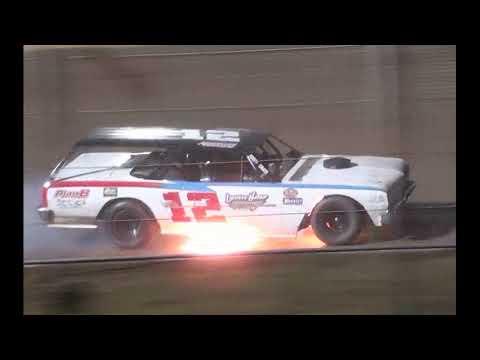 2021 Legendary 100 Night 1 Wreck Reel - Cedar Lake Speedway 09/16/2021 - dirt track racing video image