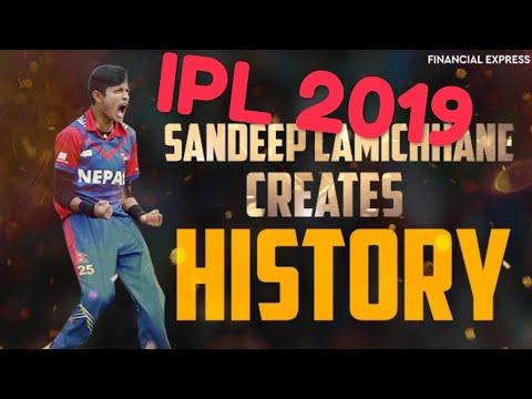 IPL 2019 : Sandeep Lamichhane  has taken big wicket of 2nd season ipl 2019 in his 2nd Match 2019