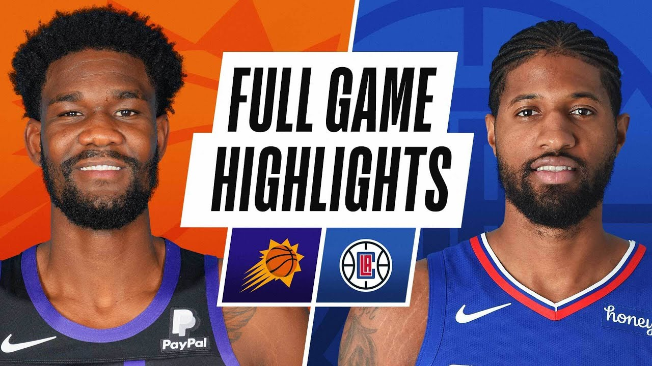 SUNS at CLIPPERS | FULL GAME HIGHLIGHTS | April 8, 2021
