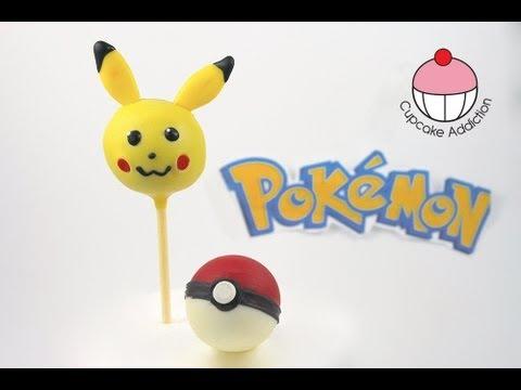 Make Pokemon Pikachu Cake Pops! A Cupcake Addiction How to Tutorial - UCxytOEPP99jj8mqVGAO7haQ