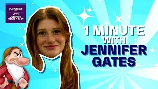 Is Jennifer Gates a grumpy dwarf? - 1 Min Fun Quiz :-D | Longines FEI Jumping World Cup™ NAL 2018/19