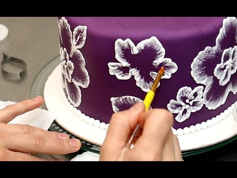 Royal Icing Recipe for Brush Embroidery Cake - Decorando con GLASA REAL by CakesStepbyStep - UCjA7GKp_yxbtw896DCpLHmQ