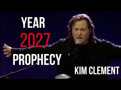 Kim Clement Prophecy: Fire, Rain, The Year 2027, Destiny, America Feb. 13th, 2013