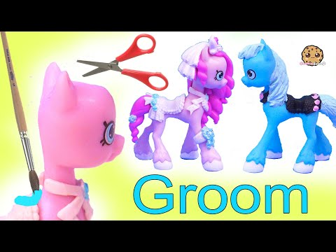 Groom PONY Wedding Shopkins Happy Places Petkins Custom ! DIY Painting Video - UCelMeixAOTs2OQAAi9wU8-g