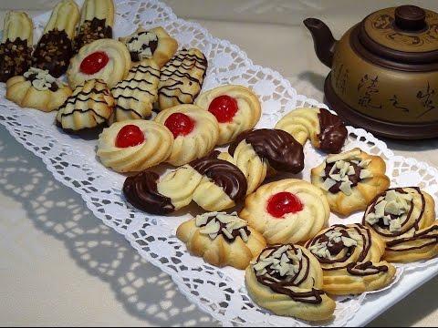 Receta Galletas rizadas o pastas de té - Recetas de cocina, paso a paso, tutorial - UC5ONfXPjWgqElh0NZaRJ1tg