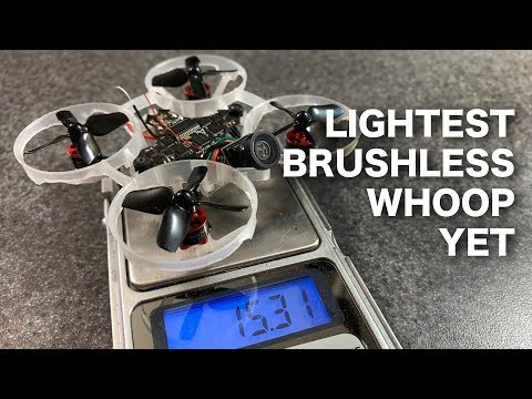 Building the World's Lightest Brushless Whoop - UCkSK8m82tMekBEXzh1k6RKA