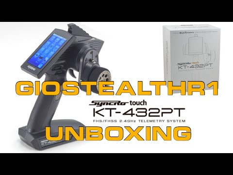 UNBOXING KYOSHO SYNCRO TOUCH KT-432PT - UCYNx2Pa6IBQ9ajOLvWj_GKA
