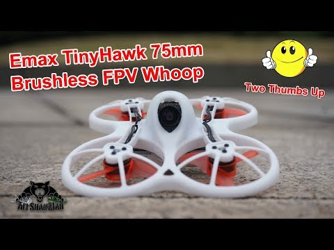Emax TinyHawk Brushless FPV Whoop Simply Awesome LOS and FPV Review - UCsFctXdFnbeoKpLefdEloEQ