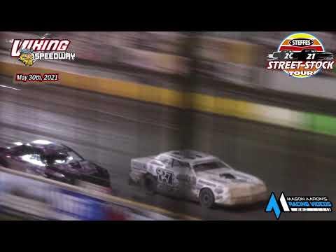 Viking Speedway Steffes WISSOTA Street Stock Tour A-Main (5/30/21) - dirt track racing video image