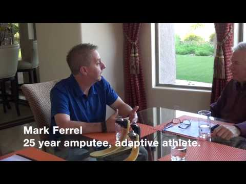 A RUSH™ Foot Round Table discussion featuring Mark Ferrell, adaptive athlete