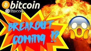 👀BITCOIN BREAKOUT COMING!?👀 bitcoin litecoin price prediction, analysis, news, trading