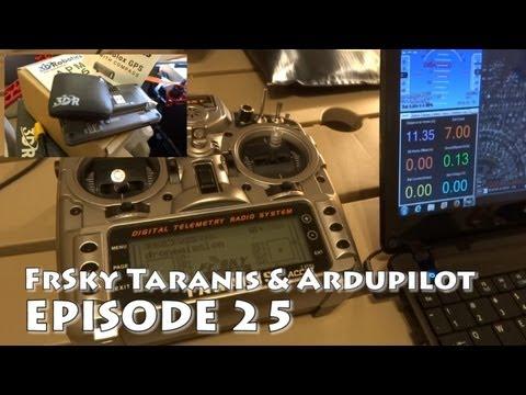 FrSky Taranis Failsafe Arducopter Setup & APM Mission