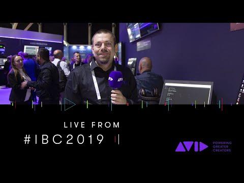 #AVID #IBC2019 LIVE ⏩ In the cloud: Avid   Edit On Demand