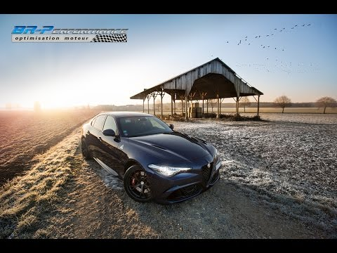 Alfa Romeo Giulia Quadrifoglio 2.9 V6 Turbo Stage 1 By BR-Performance