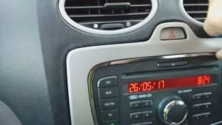 Sostituzione autoradio FORD FOCUS 2