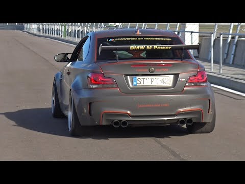 BMW 1M Coupe with Akrapovic Exhaust System! REVS & ONBOARD!