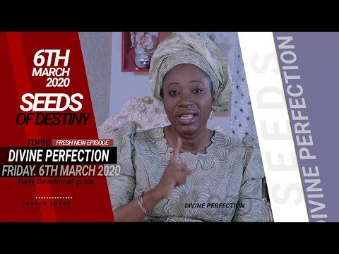 Dr Becky Paul-Enenche - SEEDS OF DESTINY - FRIDAY, 06 MARCH, 2020