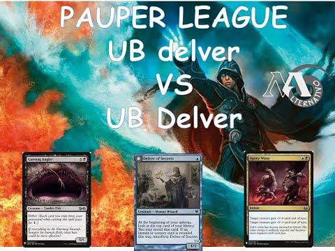 Pauper League R5 UB VS UB