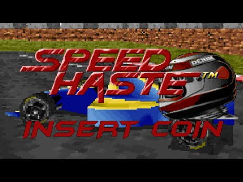 Speed Haste (1995) - PC - Stock Cars - Partida Completa