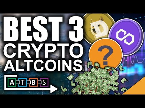 Best 3 Crypto Altcoins For 2021 (BITCOIN PUMPING! RETURN OF THE BULL!)