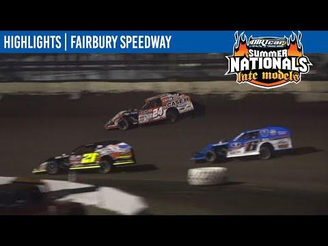 DIRTcar Summit Modifieds Fairbury Speedway June 19, 2021   HIGHLIGHTS - dirt track racing video image