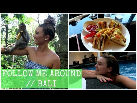 "Getting Rabies From A Monkey Scratch!"" // BALI VLOG"