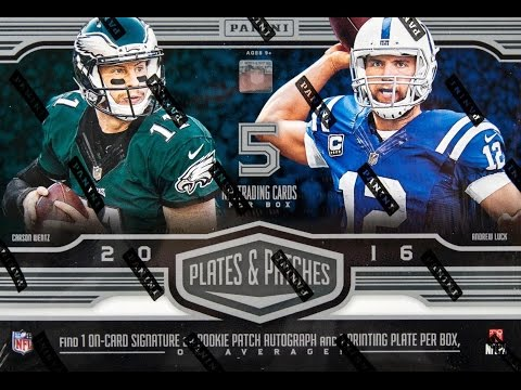 Box Busters: 2016 Panini Plates & Patches