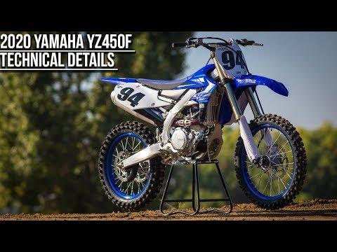 2020 Yamaha YZ450F Technical Information - Motocross Action Magazine