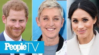 Ellen DeGeneres Defends Prince Harry And Meghan Markle Amid Private Jet Criticism | PeopleTV