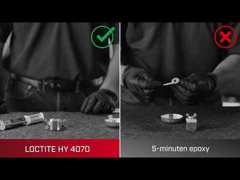 LOCTITE HY 4070 vs. 5-Minuten Epoxy - De veelzijdigste lijm in uw gereedschapskist