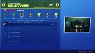 Fortnite Season X The Leftovers Challenges Eliminate Members Of The Horde At Retail Row In Solos
