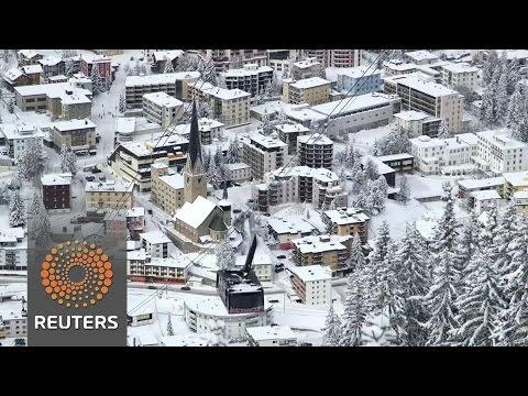 Davos summit kicks off as Trump era dawns