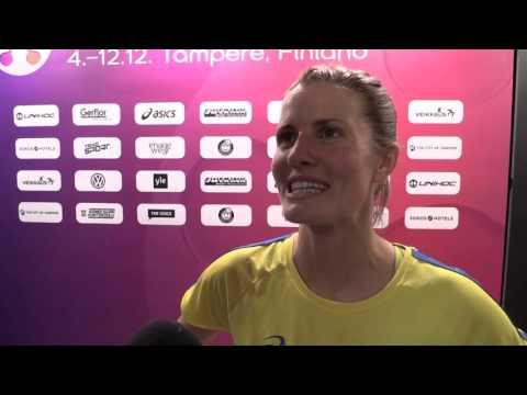 Sverige klart för VM-semifinal - se segerintervjuerna
