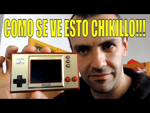 GAME & WATCH Super Mario Bros. 35 Aniversario | UNBOXING