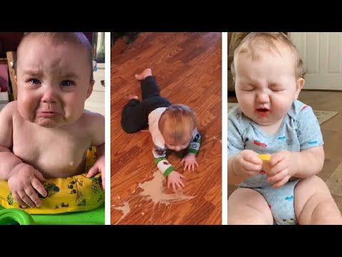 Funny Confusing baby - Cute video Tiktok #76 #shorts