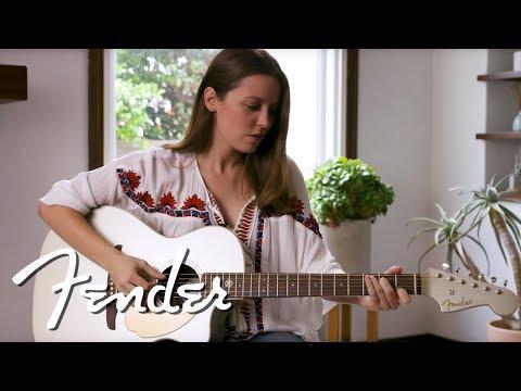 California Series Player Guitars with Angela Petrilli | Fender