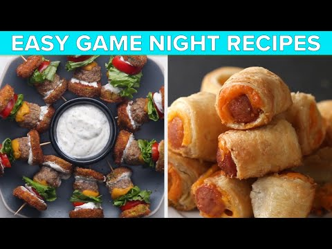 Easy Recipes For Game Night ? Tasty Recipes
