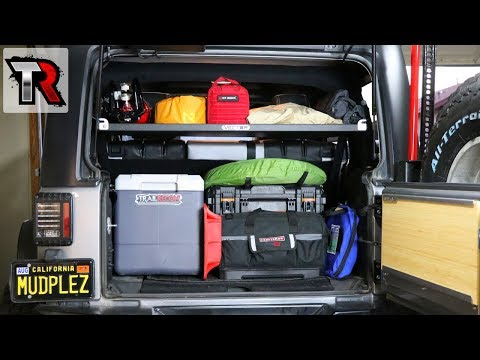 Jeep Wrangler Storage Solution - Vector OffRoad GGB