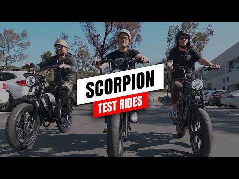 Juiced Scorpion Production Test Rides