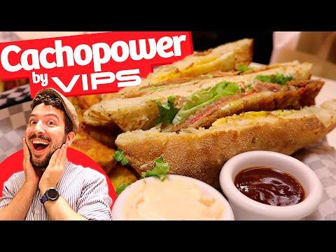 ¡CACHOPO POWER! Probando nuevos Sándwiches Cubano y Cachopower con Cachopo de Ternera de VIPS Smart