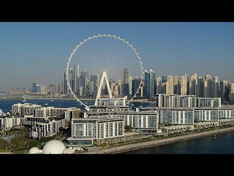 شاهد: دولاب عين دبي الهوائي أكبر دولاب في العالم يفتتح أبوابه قريباً أمام الزوار…