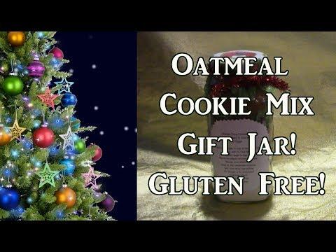 Gluten Free Cookie Mix In a Gift Jar