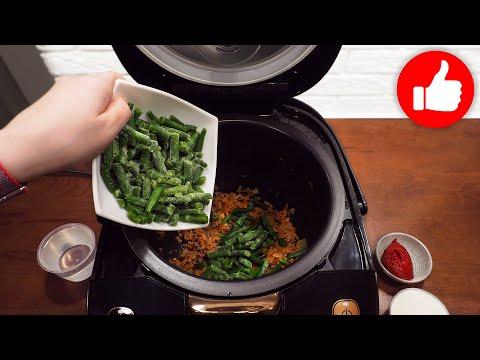 Обжарьте 200 гр. мясного фарша в мультиварке, съедается мгновенно! Быстро, просто и вкусно на ужин!