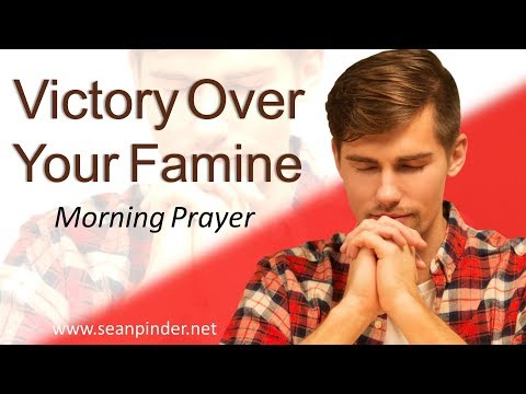 GENESIS 26 - VICTORY OVER YOUR FAMINE - MORNING PRAYER (video)