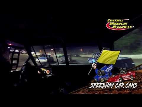 #23S Kaden Schnakenberg - Pure Stock - 6-19-2021 Central Missouri Speedway - In Car Camera - dirt track racing video image