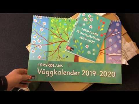 Förskolans planeringskalendrar 2019/2020