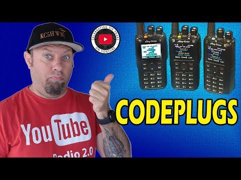 Anytone AT-D878UVII Plus Codeplug How To   Anytone 878 Programing