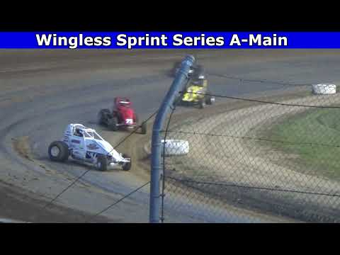 Grays Harbor Raceway, May 29, 2021, Wingless Sprint Series A-Main - dirt track racing video image