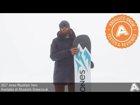 2016 / 2017 | Jones Mountain Twin Snowboard | Video Review