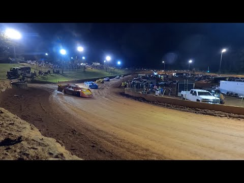 602 Late Model at Winder Barrow Speedway June 12th 2021 - dirt track racing video image